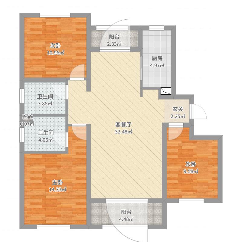 哈尔滨_红星威尼斯庄园_2017-06-28-0939户型图