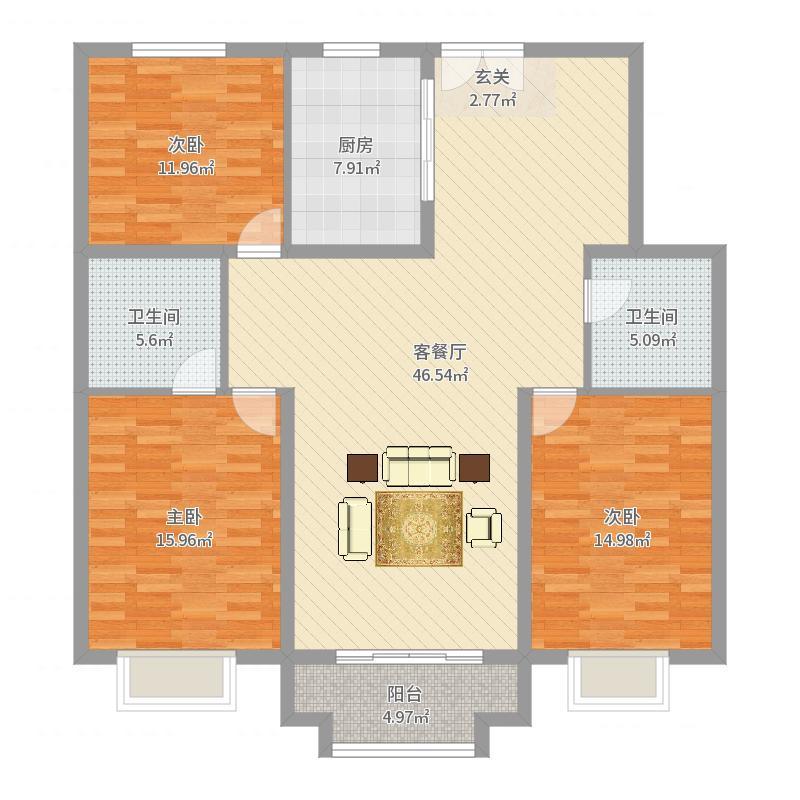富尔沃・财富广场户型图