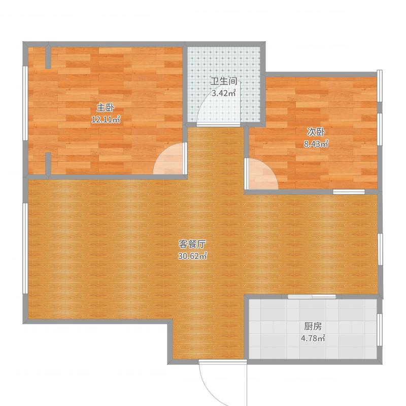 四季花语18号楼户型图