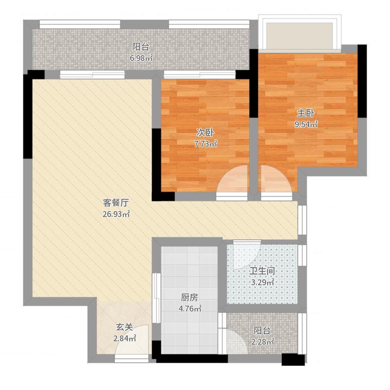 重庆_优活城_设计师曹思伟2017-06-22-2238户型图