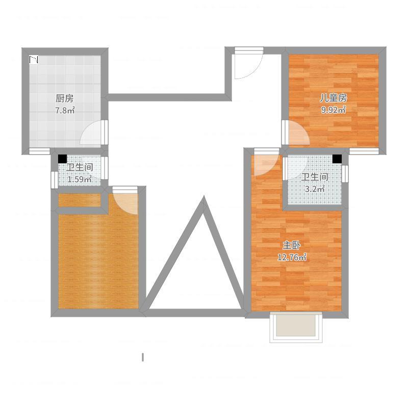 金城家园120.12-副本户型图