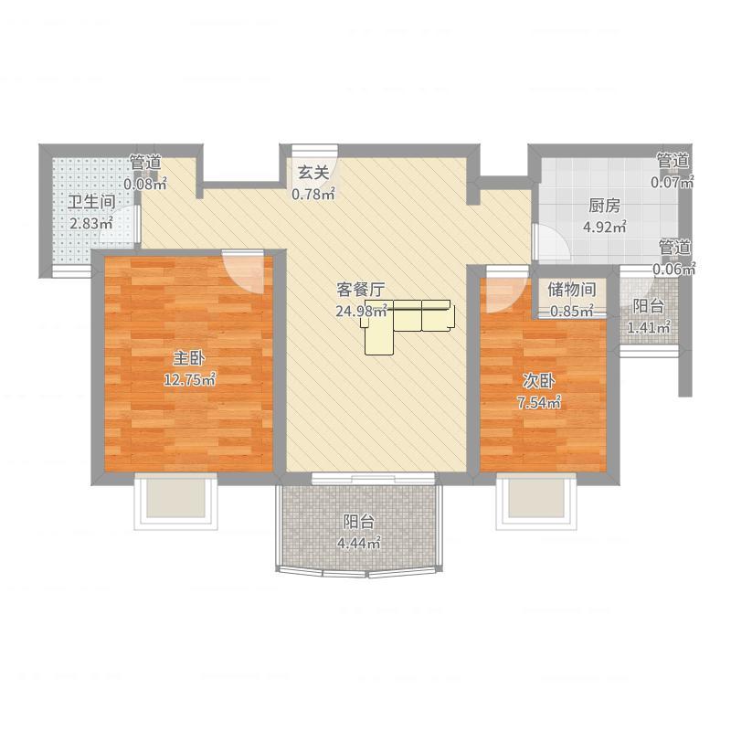 上海公馆户型图