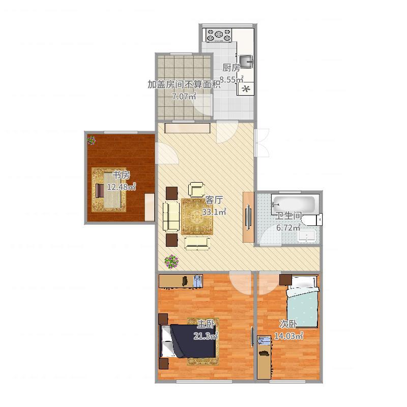 乾宁公寓户型图