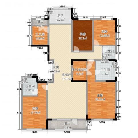 长春壹号院4室2厅3卫1厨221.00㎡户型图