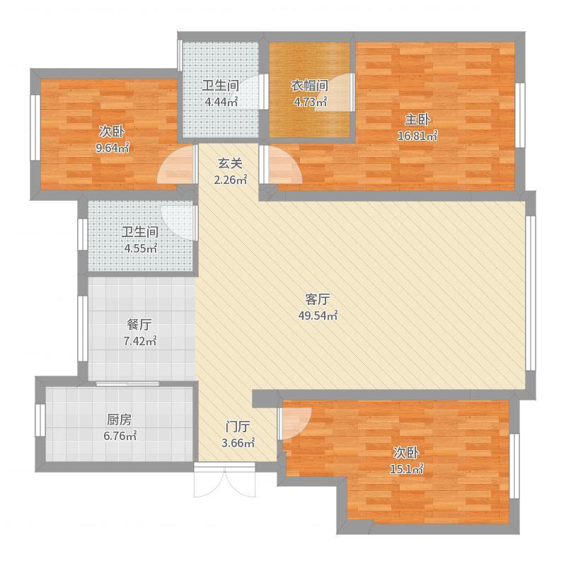 枫丹名邸刘女士,意式设计户型图