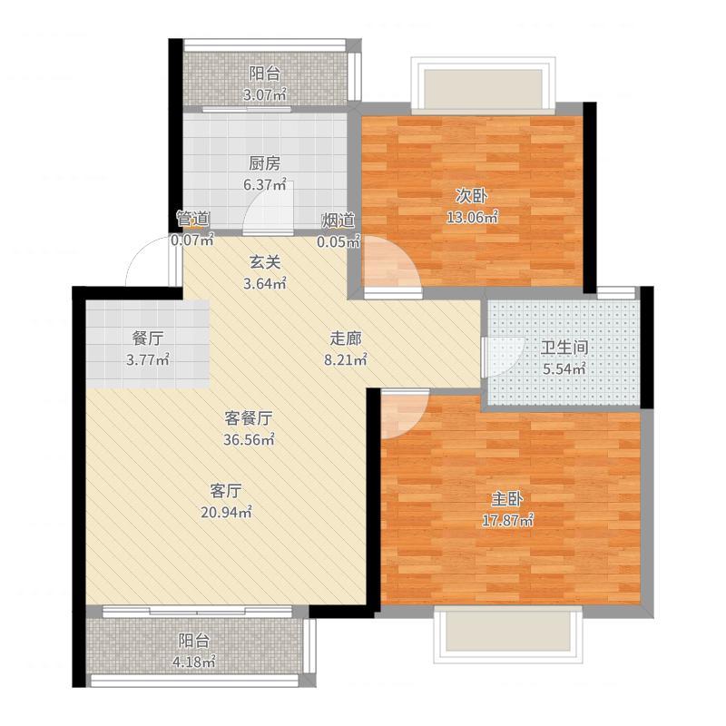 滨江雅苑户型图