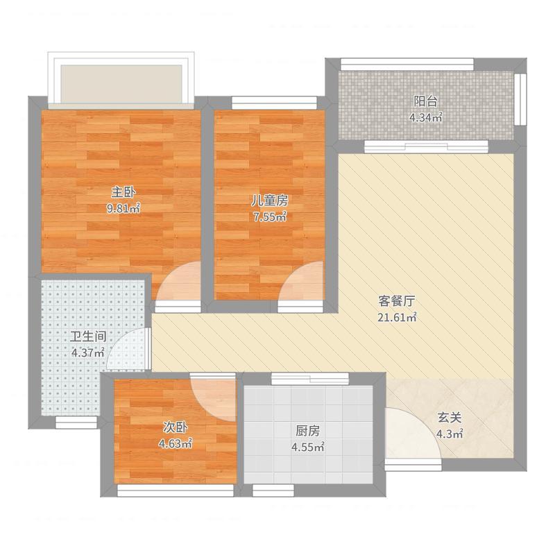 南京朗诗未来街区-副本户型图
