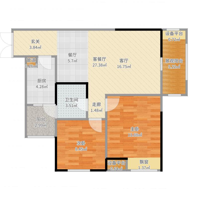 重庆_康德国会山_2017-07-21-2202户型图