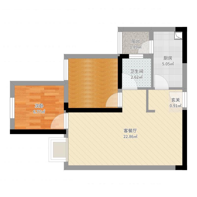 重庆_中国铁建玖城壹号_2017-07-22-0004户型图