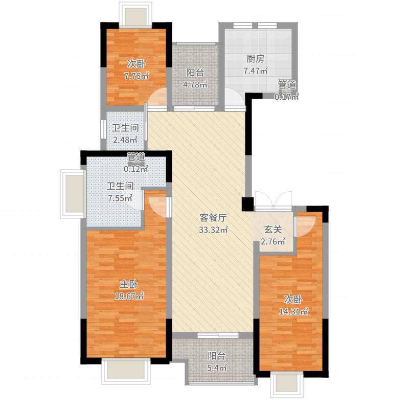 无锡_苏宁悦城_2017-07-22-1502户型图
