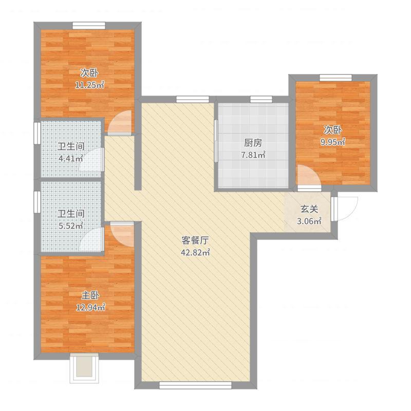 天润・香墅湾1号户型图