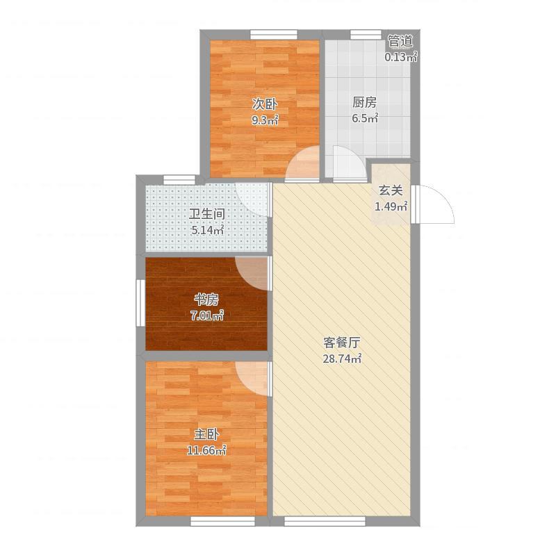 大连_华润置地广场_2017-07-22-2303户型图