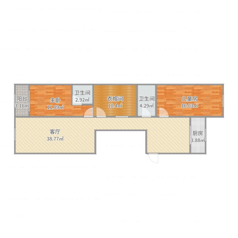 西柳小区1-2-1605_2017-07-23-1228户型图