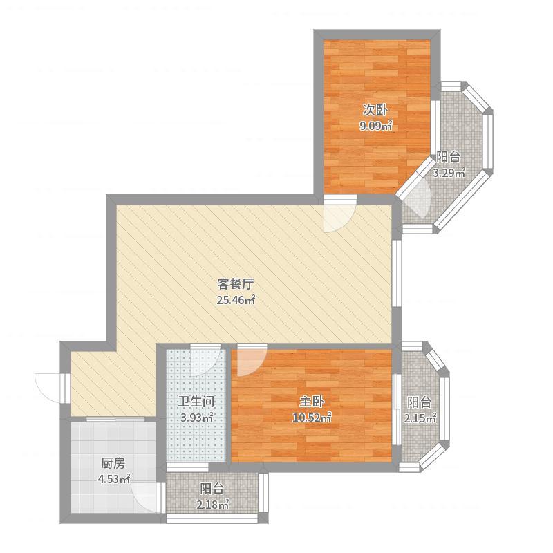 安和家园户型图