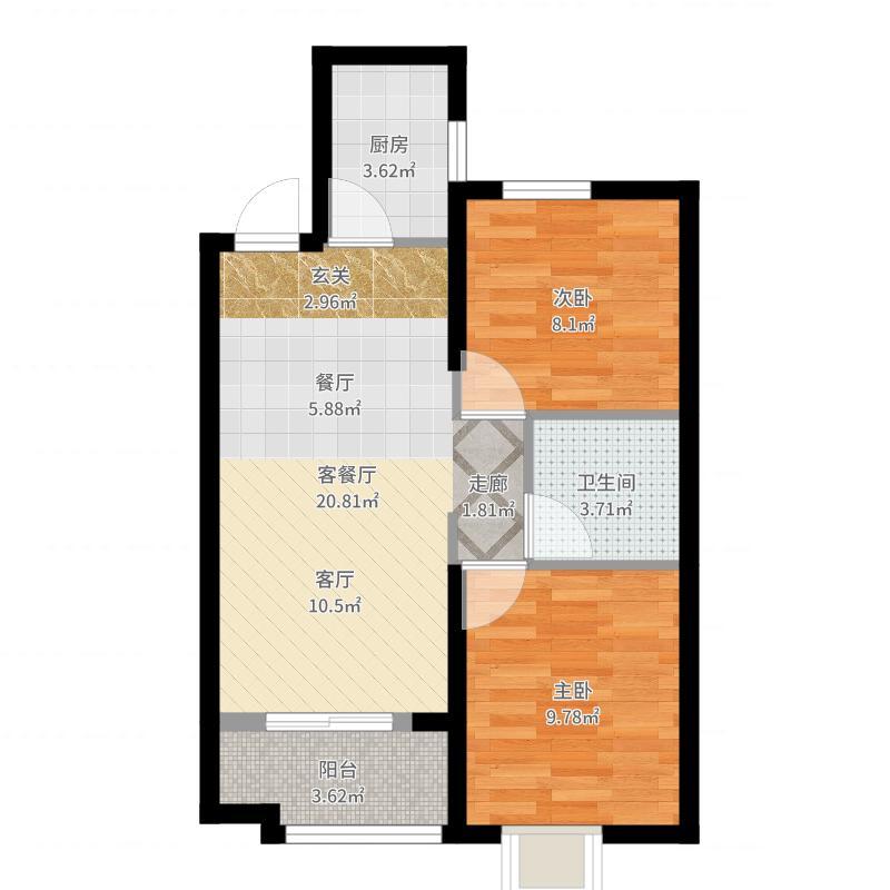 大连_恒大御景湾_2017-07-23-1501户型图