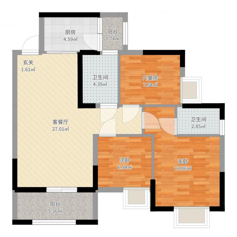无锡_丽都城市花园_2017-07-23-1446户型图