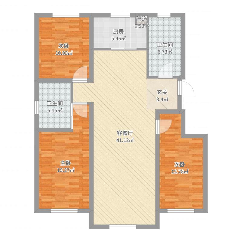 锦州_东湖凤还朝_2017-07-24-1650户型图