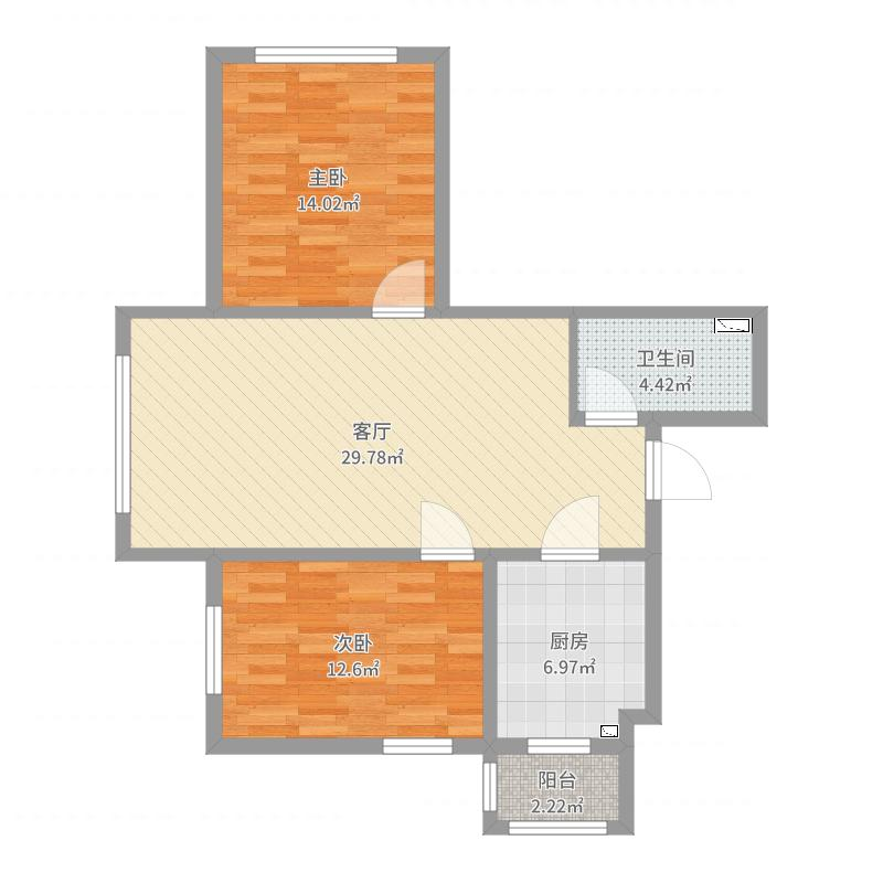 香林名苑户型图