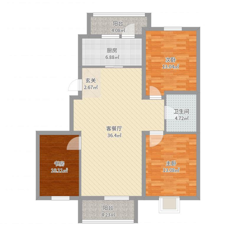宏运・凤凰新城一期户型图