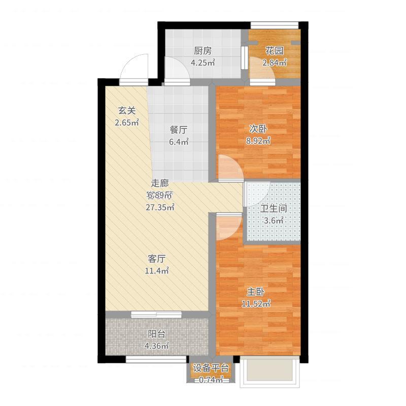 北京_早安北京_2017-07-24-2119户型图
