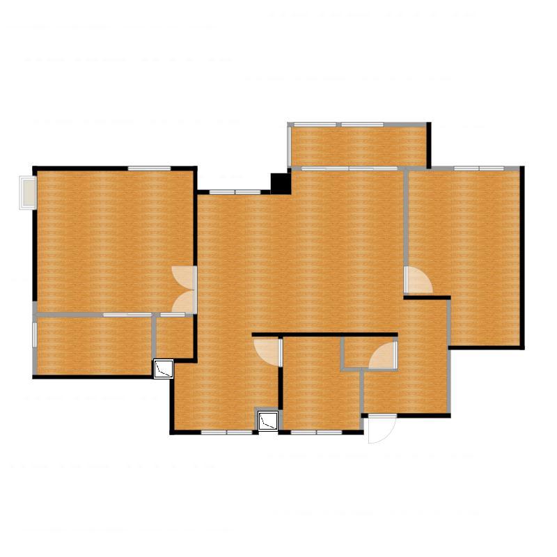 中冶昆庭112.00㎡户型户型图
