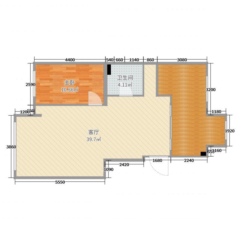 尚品A6-3-102户型图