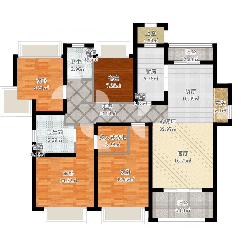 上海_保利翡丽公馆_2017-07-25-1614户型图