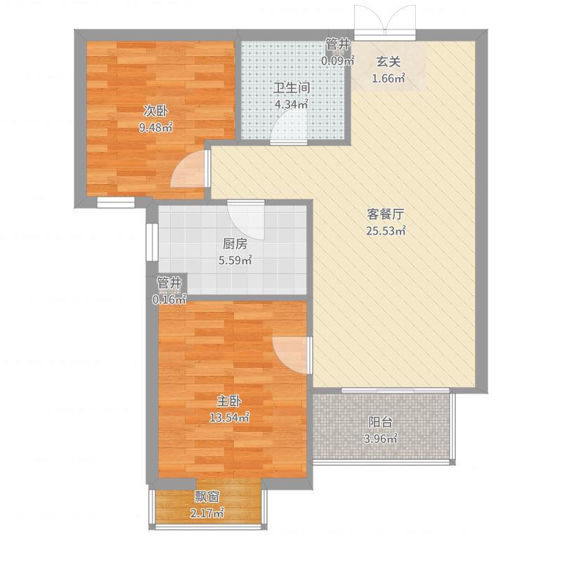 燕京航城户型图