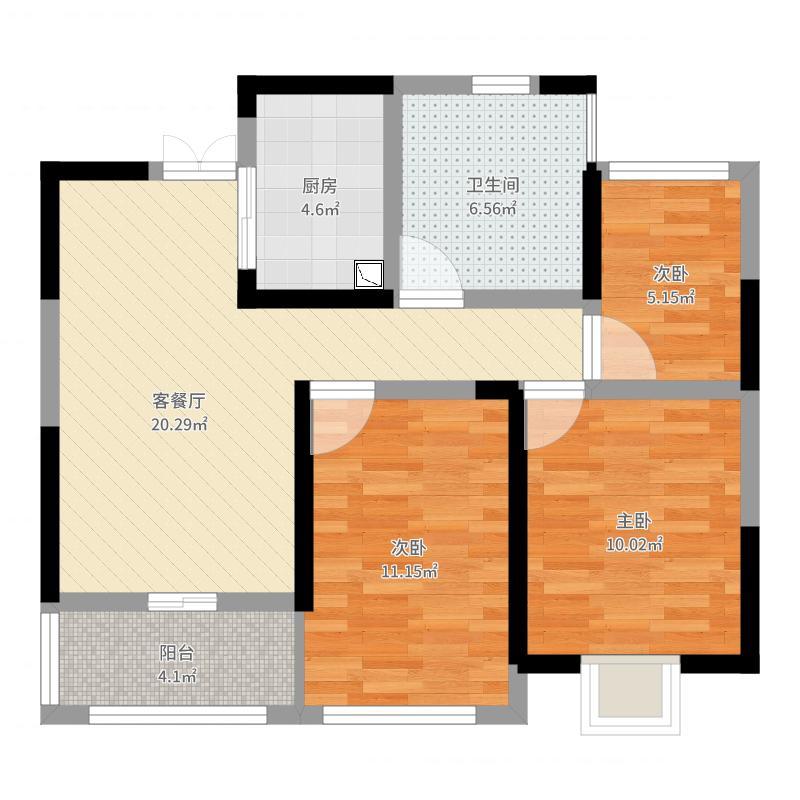 南通_御景澜庭_2017-07-25-1501户型图