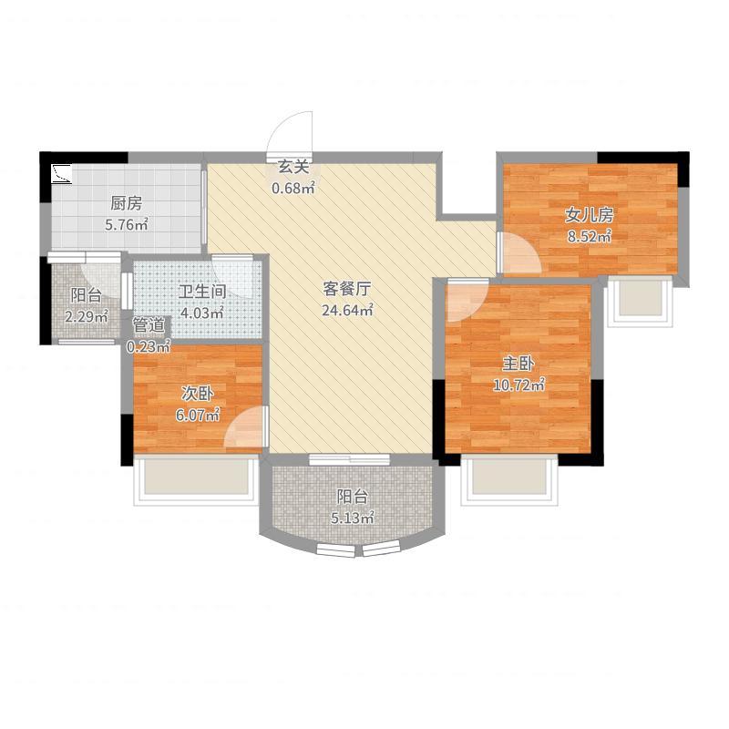 南京_碧桂园城市花园_2017-07-18-1353-副本户型图
