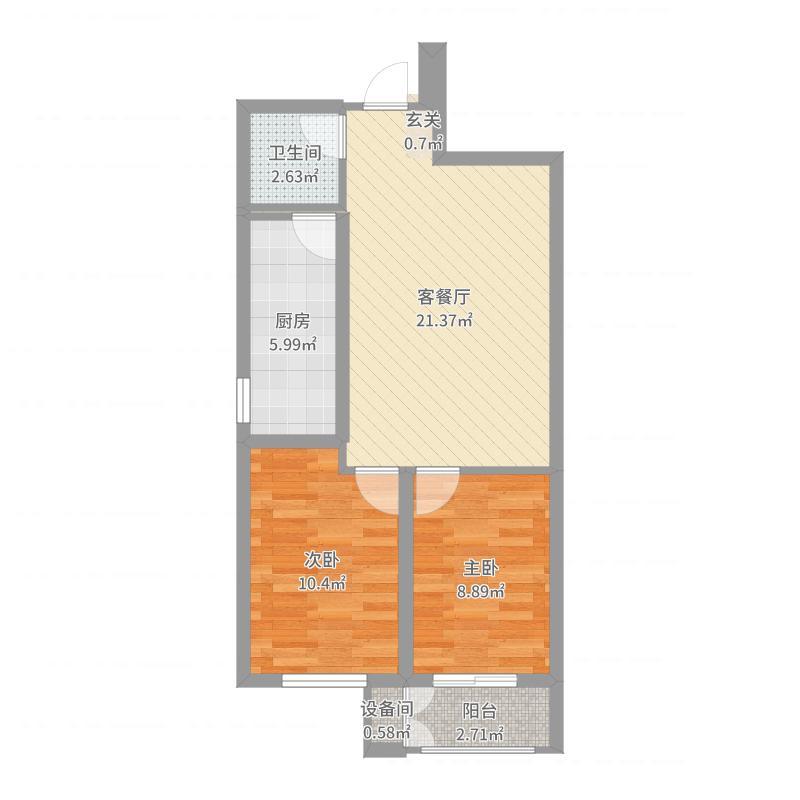 雷捷时代广场二期户型图
