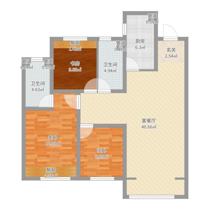 沈阳_华润・奉天九里_2017-07-25-1648户型图