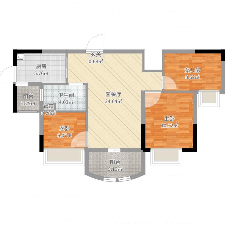南京_碧桂园城市花园_2017-07-25-1651户型图