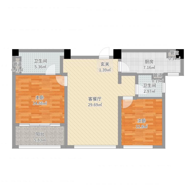 苏州湾景苑户型图