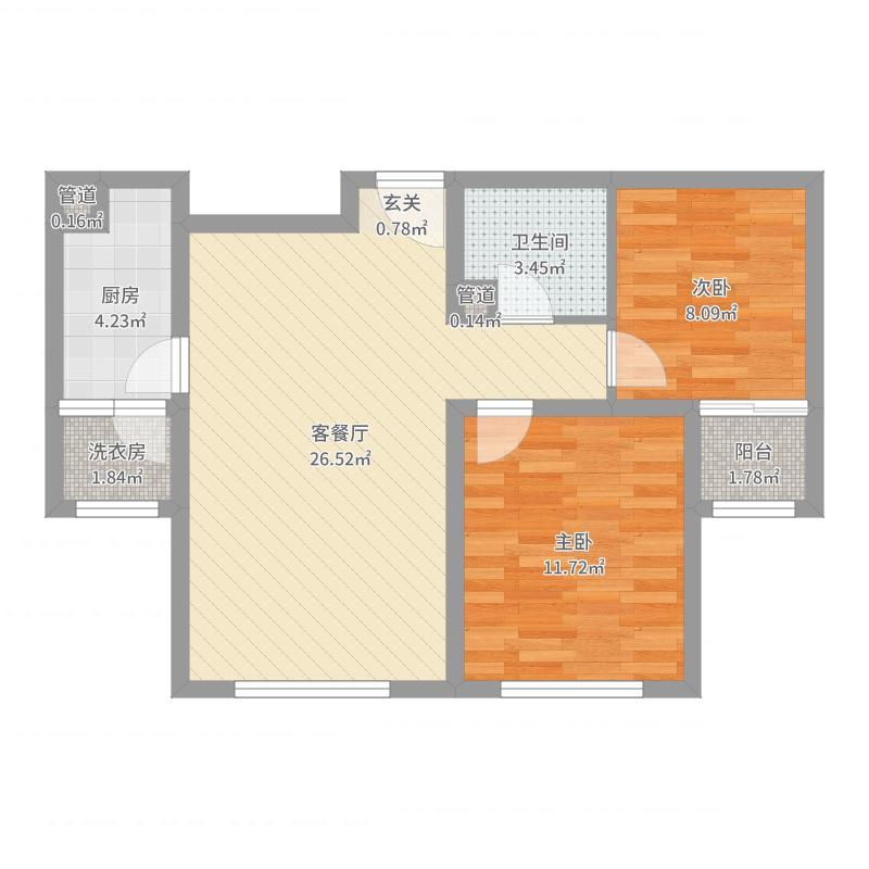廊坊_香河_2017-07-26-1055户型图