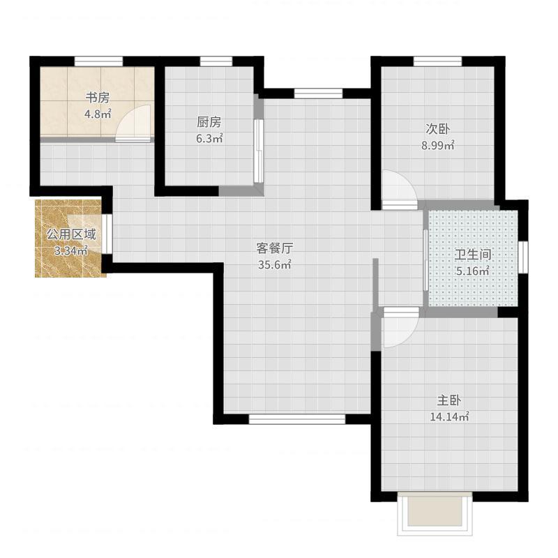 天津_旭辉澜郡_2017-07-26-1621户型图