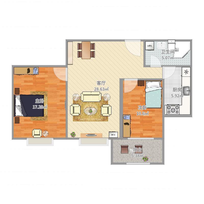 何邦达豪宅设计户型图