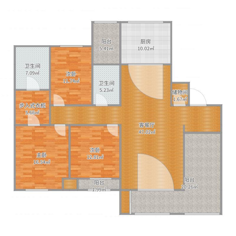 新城公馆邵女士设计方案-副本户型图