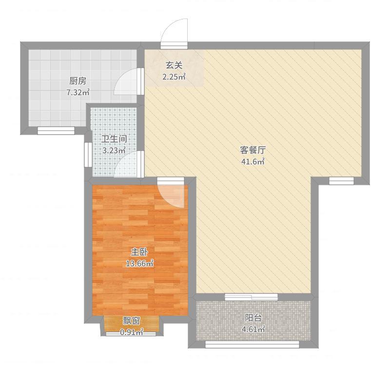 张家口_滨河公馆_2017-07-27-0832户型图