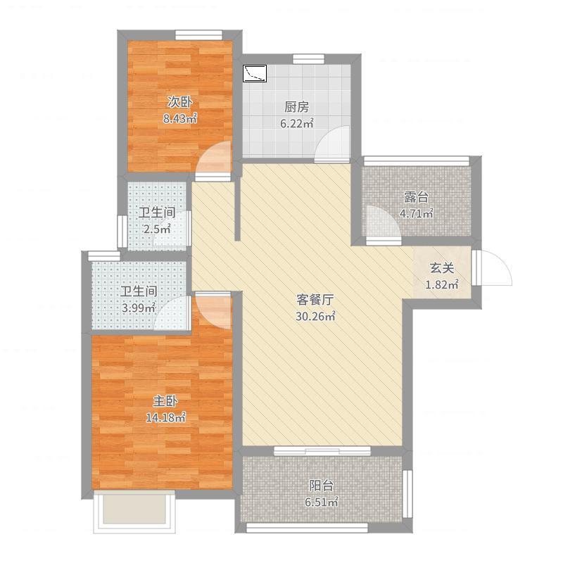 苏州_北城新境_2017-07-27-0943户型图