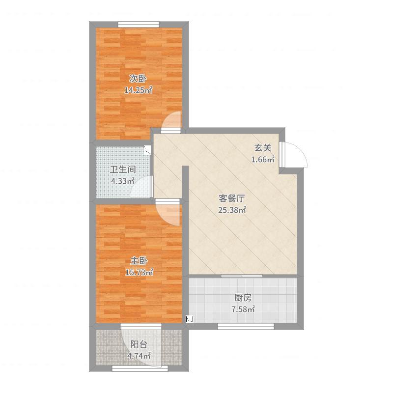 保定_和兴佳苑_2017-07-28-0842户型图