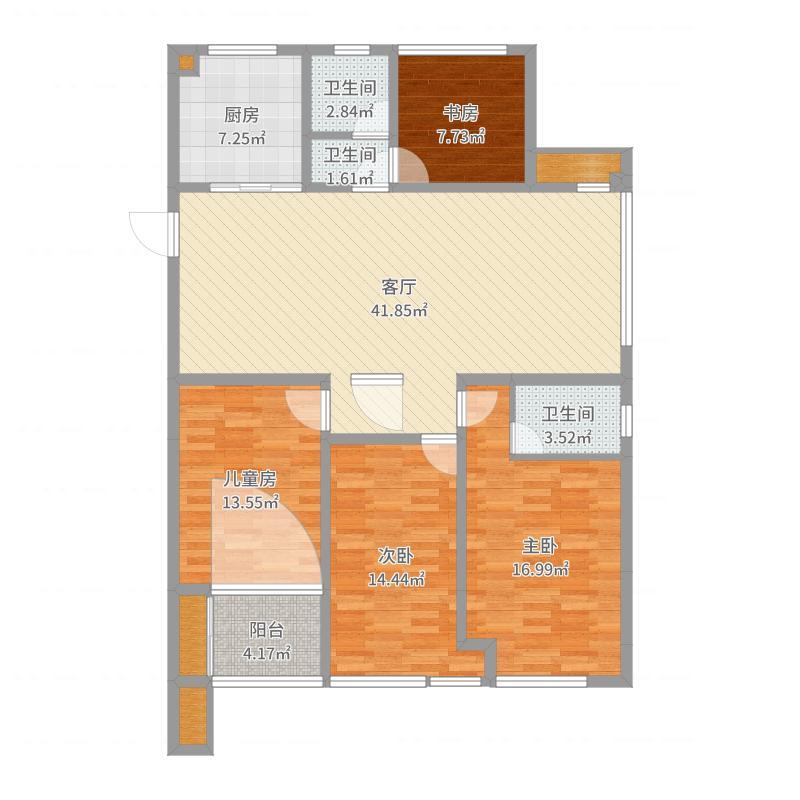 沙发南-副本户型图