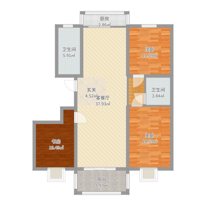 石家庄_中平乐平安家园_2017-07-29-1631户型图