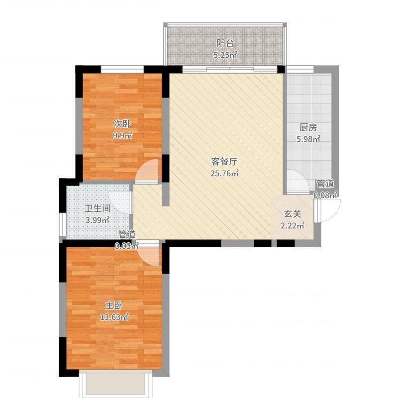 北京公馆户型图