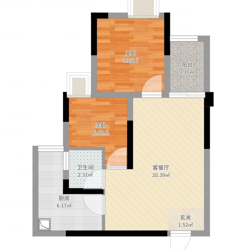重庆_天润城_2017-07-28-1334户型图