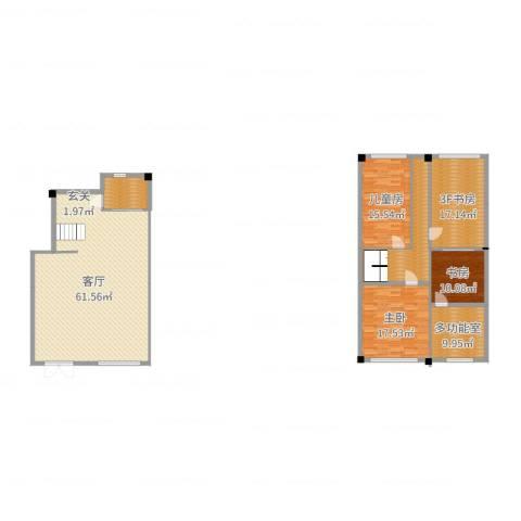 维科皇家花园3室1厅0卫0厨188.00㎡户型图