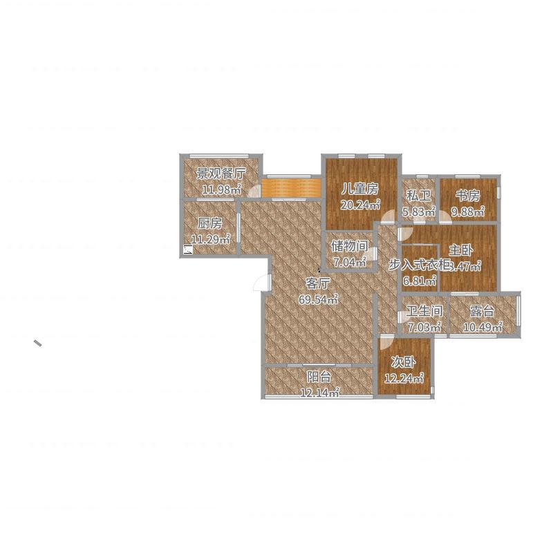常州_弘建一品1栋_2017-08-17-1101户型图