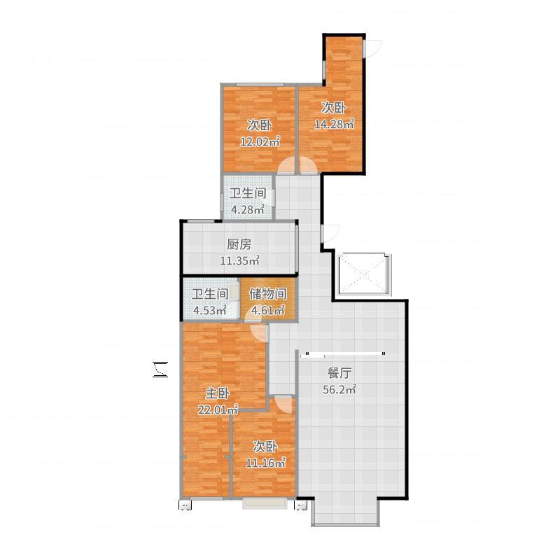 恩和家园33户型图