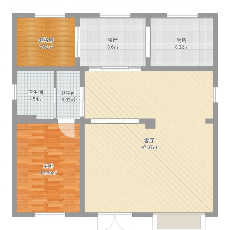 东贺村73号一楼-副本户型图
