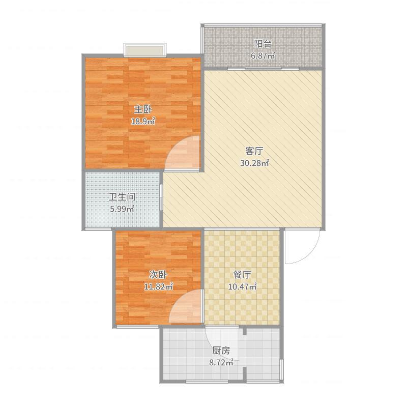 明纶园19.502户型图